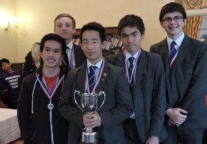 Bournemouth Grammar Chess Winners 2017