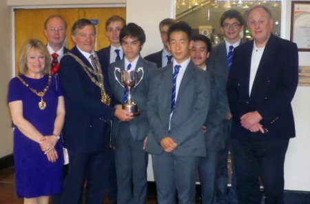 "Junior Chess Senior Competition – BGS ""A"" & Highcliffe head to head"