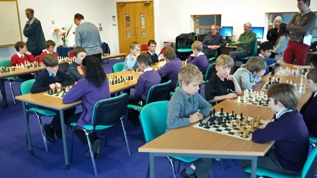 "Junior Chess Challenge started 7 Feb – Pl click on ""Junior Chess"""