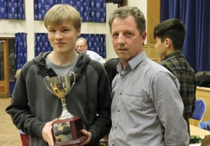 James Forster & Dave Fuller Dorset Junior Chess 2017