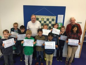 Junior Chess Rapidplay Presentation Bournemouth Library