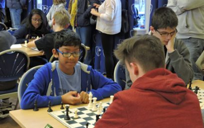 Eric Sachs Junior Chess Officer Report – 31 Jan '18. Need for more help please!