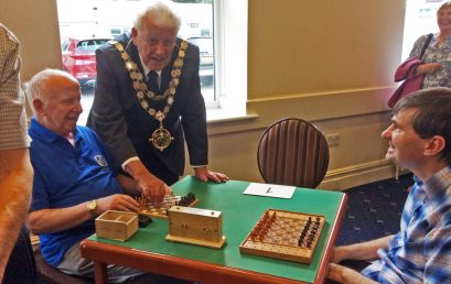 Braille Chess Association thanks Dorset Chess