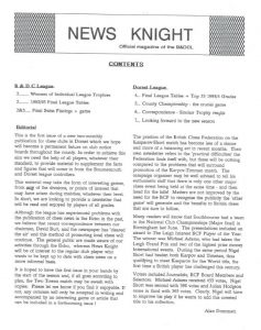 Chess Newsknight (1) 1993