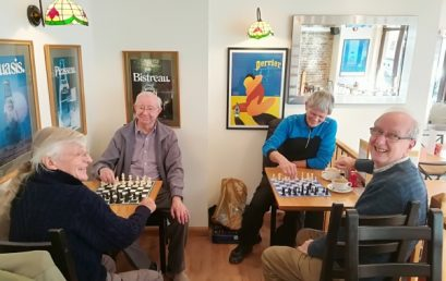 Bulletin No.22 – Chess at the Cafe Tratt in Swanage